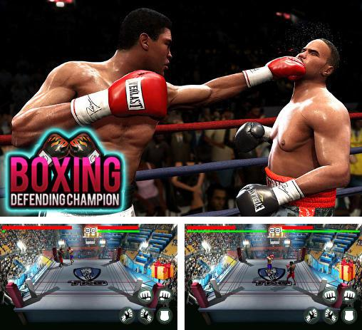 Boxing: Defending champion