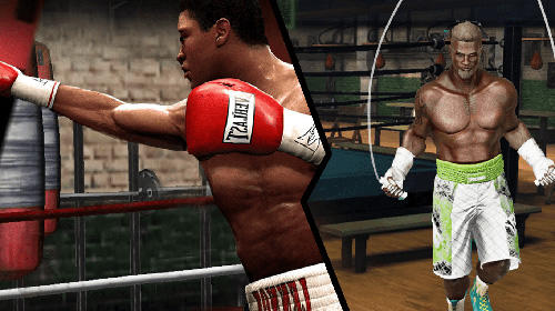 Kostenloses Android-Game Boxing Fight: Echte Faust. Vollversion der Android-apk-App Hirschjäger: Die Boxing fight: Real fist für Tablets und Telefone.