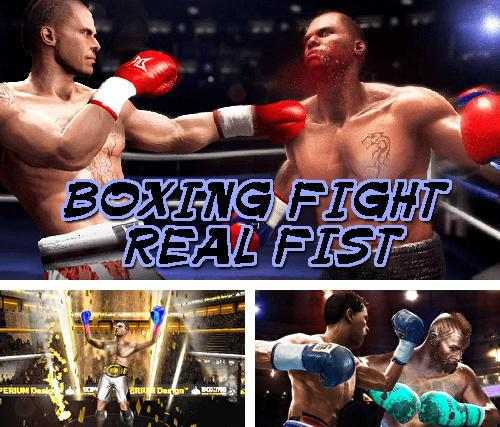 Boxing fight: Real fist