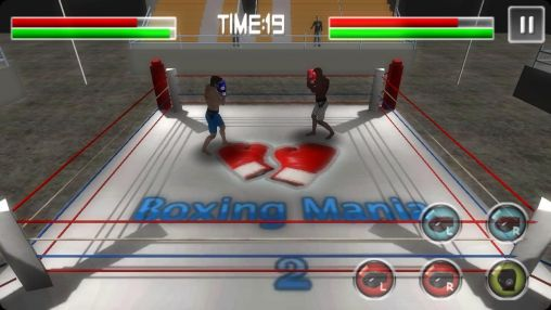 Screenshots von Boxing mania 2 für Android-Tablet, Smartphone.