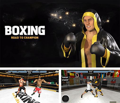 In addition to the game Real Boxing for Android phones and tablets, you can also download Boxing: Road to champion for free.