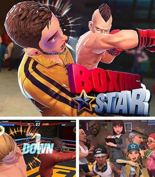 In addition to the game NY punch boxing champion: Real pound boxer 2018 for Android phones and tablets, you can also download Boxing star for free.