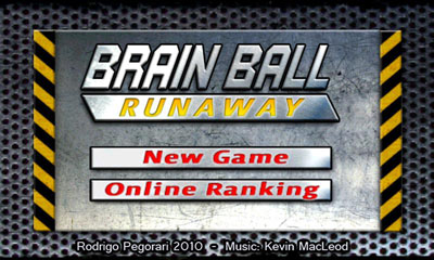 Brain Ball Runaway screenshot 1