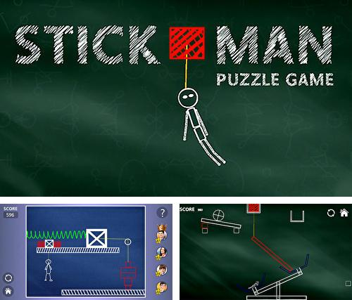 Brain hit on: Stickman rope swing puzzle games