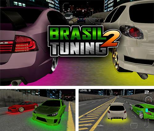 In addition to the game Hill top racing mania for Android phones and tablets, you can also download Brasil tuning 2: 3D racing for free.