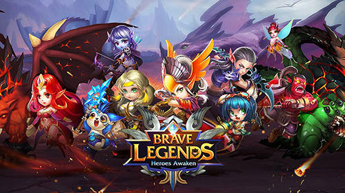 Brave legends: Heroes awaken poster