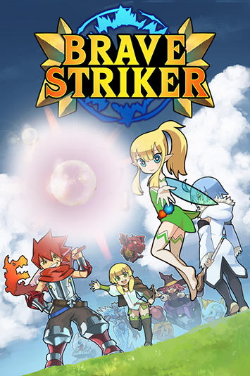 Brave striker: Fun RPG game poster