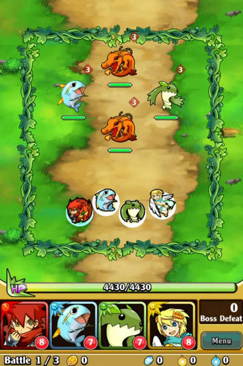 Brave striker: Fun RPG game screenshot 2