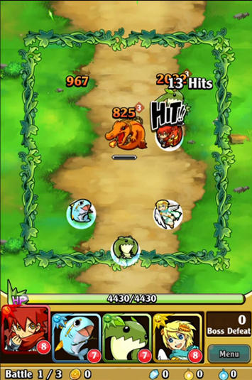 Brave striker: Fun RPG game screenshot 3