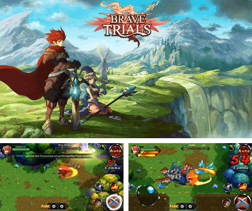 In addition to the game Magic Yum-Yum for Android phones and tablets, you can also download Brave trials for free.