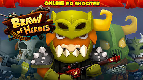 Brawl of heroes: Online 2D shooter