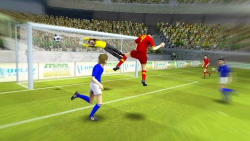 Brazil Germany world cup. Striker soccer: Brasil screenshot 2
