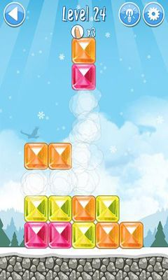 Screenshots of the Break The Ice - Snow World for Android tablet, phone.