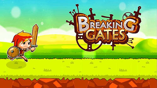 Breaking gates: 2D action RPG poster