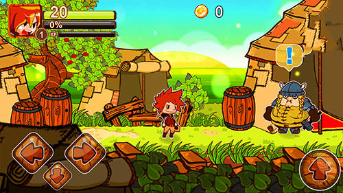 Breaking gates: 2D action RPG screenshot 3
