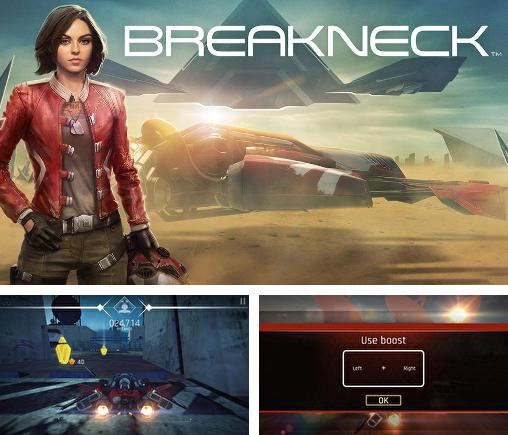 In addition to the game T-Racer HD for Android phones and tablets, you can also download Breakneck for free.
