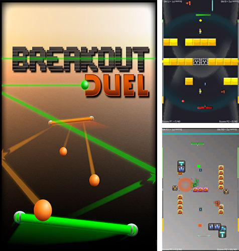 In addition to the game DROID BREAKOUT for Android phones and tablets, you can also download Breakout Duel for free.