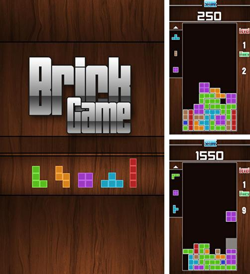 In addition to the game Brick Game - Retro Type Tetris for Android phones and tablets, you can also download Brick game for free.