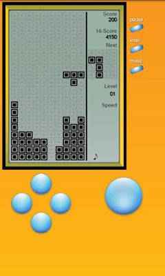 Get full version of Android apk app Brick Game - Retro Type Tetris for tablet and phone.