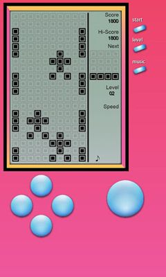Screenshots of the Brick Game - Retro Type Tetris for Android tablet, phone.
