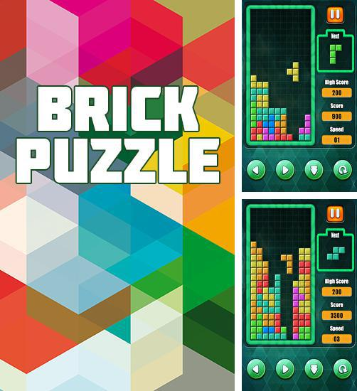 In addition to the game Brick Game - Retro Type Tetris for Android phones and tablets, you can also download Brick puzzle: Block classic for free.