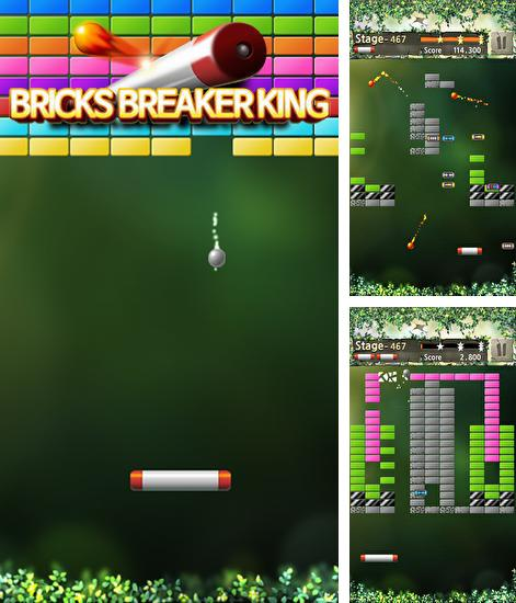 In addition to the game Block breaker 3 unlimited for Android phones and tablets, you can also download Bricks breaker king for free.
