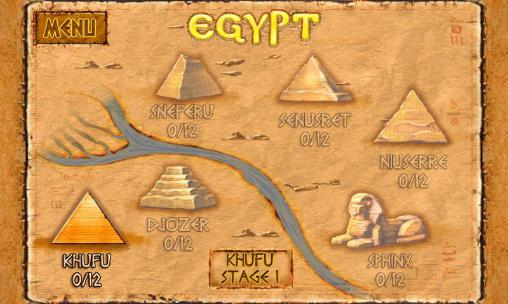 Гра Brickshooter Egypt: Mysteries на Android - повна версія.