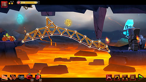 Bridge builder adventure screenshot 1