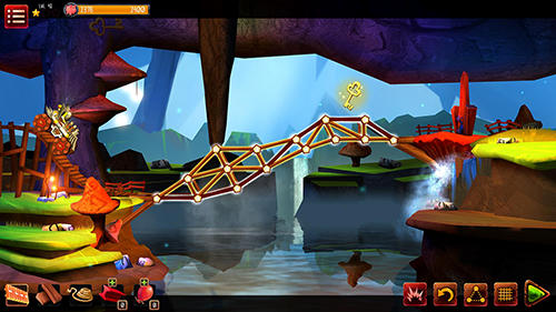 Bridge builder adventure screenshot 2