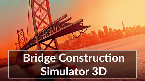 Bridge construction simulator обложка