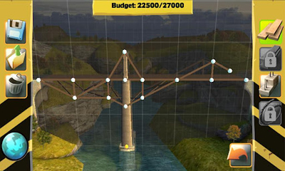 Screenshots von Bridge Constructor für Android-Tablet, Smartphone.