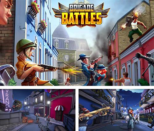 In addition to the game Death Racing 2 Desert for Android phones and tablets, you can also download Brigade battles for free.