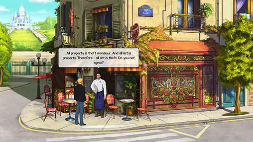 Broken sword 5: The serpent's curse. Episode 1: Paris in the spring screenshot 1