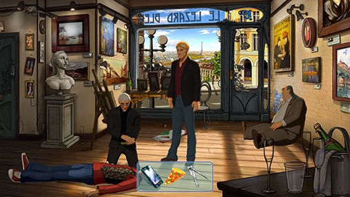 Capturas de pantalla de Broken sword 5: The serpent's curse. Episode 1: Paris in the spring para tabletas y teléfonos Android.