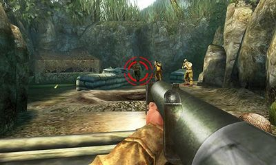 Capturas de pantalla de Brothers in Arms 2 Global Front HD para tabletas y teléfonos Android.