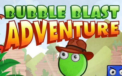 Bubble blast adventure poster