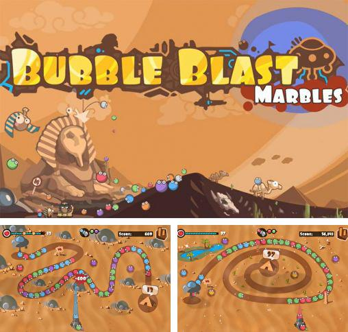 Bubble blast: Marbles