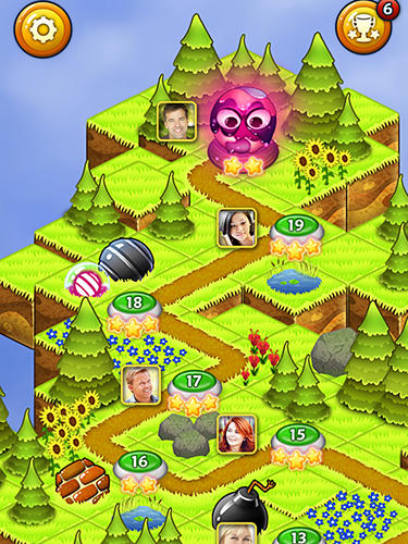 Cookie pop: Bubble shooter für Android spielen. Spiel Coocie Pop: Buuble Shooter kostenloser Download.