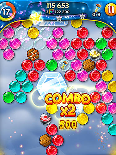 Screenshots von Cookie pop: Bubble shooter für Android-Tablet, Smartphone.