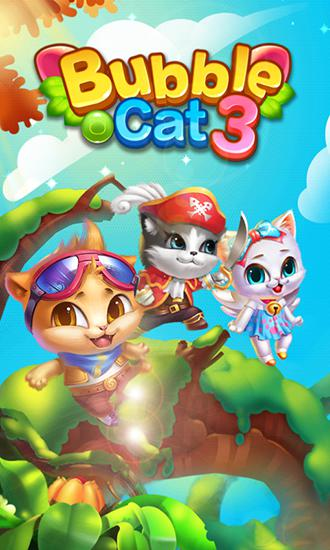 Bubble cat 3 poster