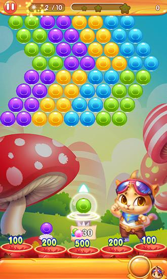 Bubble cat 3 für Android spielen. Spiel Bubble Cat 3 kostenloser Download.