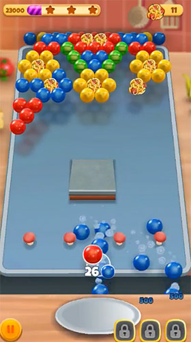 Download Bubble chef Android free game.