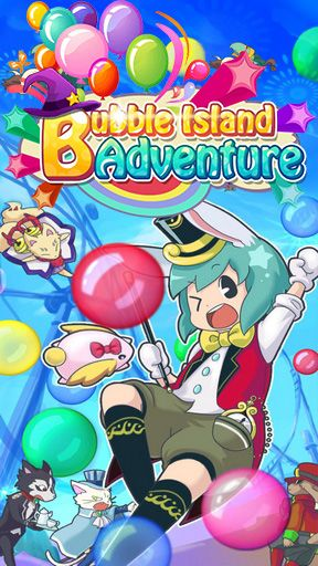 Bubble island: Adventure poster