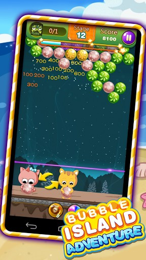 Bubble island: Adventure screenshot 1