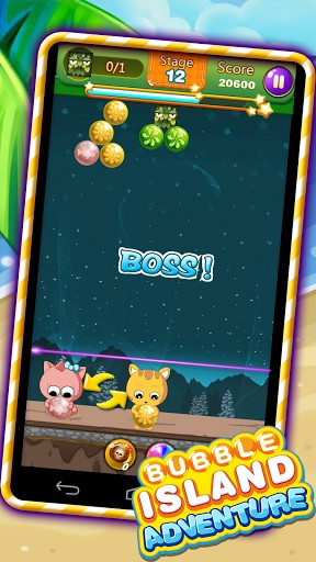 Bubble island: Adventure screenshot 2
