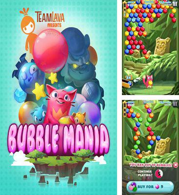 In addition to the game Doodle Moto for Android phones and tablets, you can also download Bubble Mania for free.