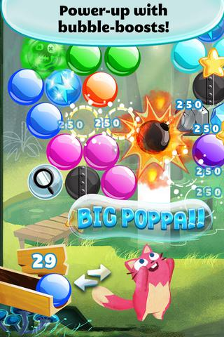 Bubble mania: Spring flowers screenshot 1