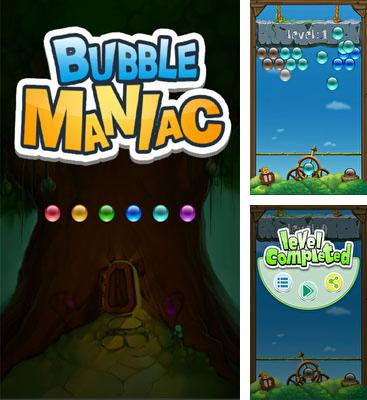 In addition to the game Fruit shooter saga for Android phones and tablets, you can also download Bubble Maniac for free.