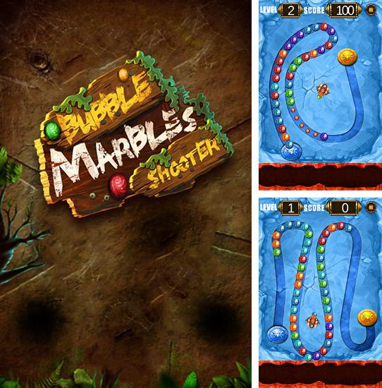 Bubble marbles shooter puzzle