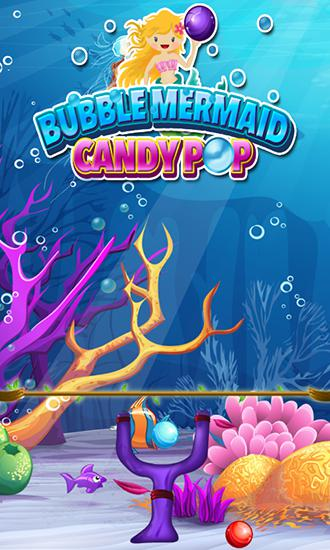 Bubble mermaid: Candy pop poster